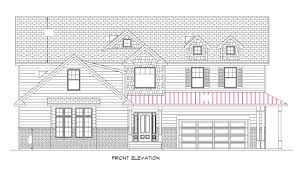 elevation and floor plan of a house the concrete cottage gateway house front elevation