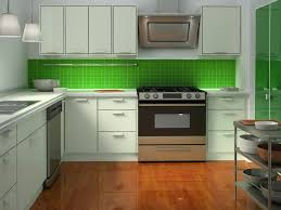 Colorful Kitchen Cabinets Ideas Kitchen Admirable Light Green Kitchen Cabinets U Shapes Kitchen