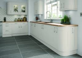 light grey hand painted shaker kitchens