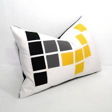 outdoor pillows grey geometric rumah minimalis