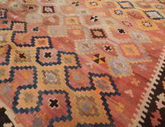 Large Kilim Rugs Hand Woven Kilim Beige Wool Jute Rug 5 U0027 X 8 U0027 By Acura Homes