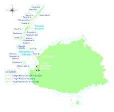 Fiji Islands Map 7 Night Mamanuca Yasawa Island Captain Cook Cruise Discounted