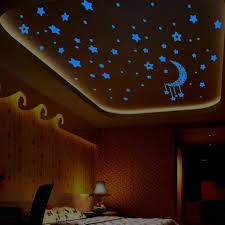 Glow In The Dark Star Ceiling by Compare Prices On Star Wall Stickers Online Shopping Buy Low