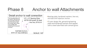 Buttress Wall Design Example Soil Nail Design Choice Image Nail Art Designs