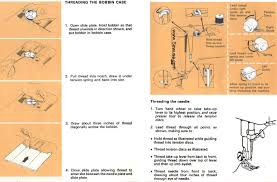 singer 534 stylist sewing machine threading diagram