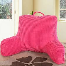 tv bed pillow bedrest pillow to watch tv and read in bed cotton seat back cushion