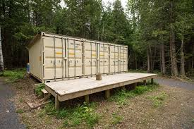 Container Homes Interior A Canadian Man Built This Off Grid Shipping Container Home For