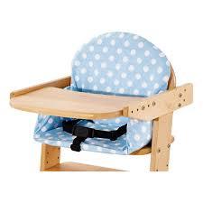 siege pour chaise haute housse de coussin pour chaise haute bleue pinolino natiloo com