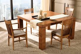 Modern Solid Wood Dining Table Great Modern Wood Dining Room Table 55 For Outdoor Dining Table