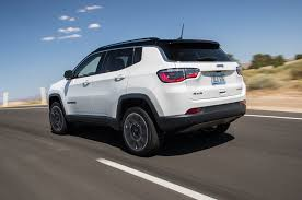 jeep compass 2017 jeep compass limited and trailhawk first test review motor