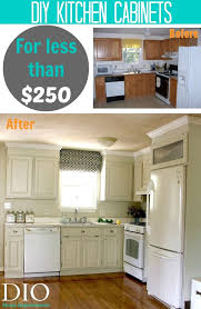 Kitchen Cabinet Makeover Kitchen Cabinet Makeover For Less Than 250