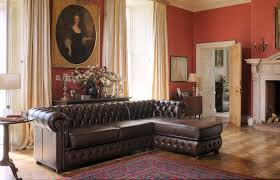 Leather Sofas Chesterfield by Modular Sofa Chesterfield Leather 3 Seater Farringdon