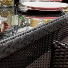 9 Piece Wicker Patio Dining Set - providence 9 piece resin wicker patio dining set by lakeview