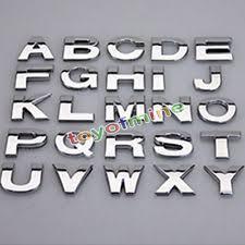 car letter stickers ebay