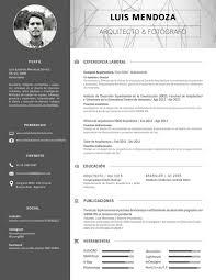 Portal Architect Resume Cv Architecte Hmonp S Donadieu Diagramación Pinterest