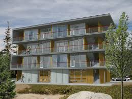 Multifamily Proposed Design For Multi Family Pre Fab Housing In Portland
