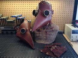 leather plague doctor mask leather plague doctor mask 10 steps with pictures