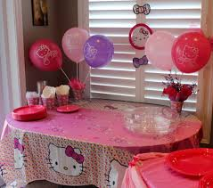 Hello Kitty Hanging Decorations Hello Kitty Birthday Party Ideas U2022 The Inspired Home