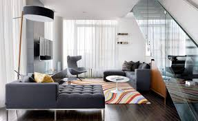 Gray Color For Living Room Contemporary Area Rugs With A Patterned Wooly Material To Create A