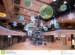 decor at prague shopping center editorial stock photos