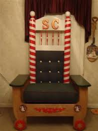 Santa Chair Rental Portable Santa Claus Throne And Couch And Chair For Elves For Sale