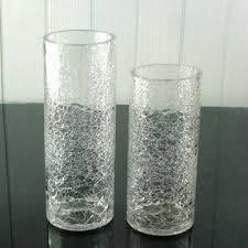 Glass Vase Cylinder China Crackled Glass Vases On Global Sources