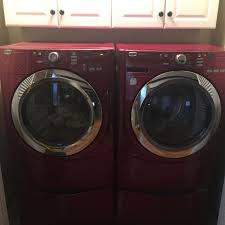 Front Load Washer With Pedestal Find More Maytag Front Loader Washer And Dryer Candy Apple Red