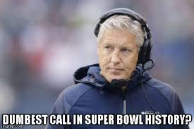 Call Meme - pete carroll bad call meme sports unbiased