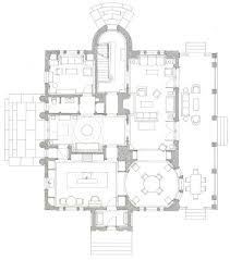 peter pennoyer u0027s first floor plan of a house in the country