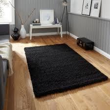 area rugs astonishing black shaggy rug black faux fur rug shaggy