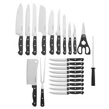 amazon com farberware 22 piece classic forged stainless steel