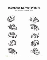 ideas about matching worksheets for kindergarten easy worksheet