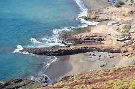 Montana beaches images Guide to the best nudist beaches on tenerife jpg
