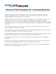 score deluxe startup business plan template income statement