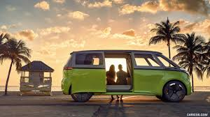 wallpaper volkswagen van 2017 volkswagen i d buzz concept side hd wallpaper 7