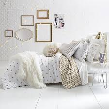 Room Essentials Comforter Set Glam Polka Dot Reversible Full Queen Comforter Set In Gold