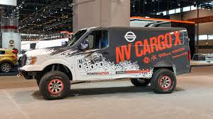 nissan work van 2017 nissan nv cargo x is off roader and support vehicle all in one