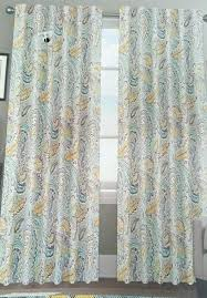 Grey And Yellow Shower Curtains Grey And Yellow Shower Curtains Mirak Info