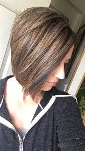 highlights for inverted bob a line inverted bob stacked layers light brown hair color with