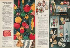vintage christmas balls a vintage catalog extravaganza