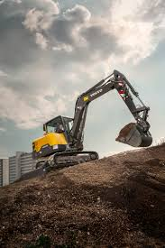 volvo corp the volvo ec60e is the perfect fit for any application rock