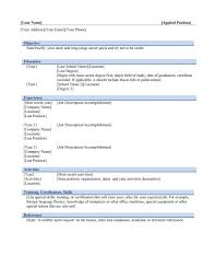 Microsoft Word Professional Resume Template Free Resume Templates Format Microsoft Word Template