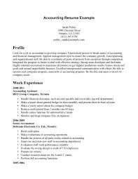 Resume Samples Accounting Experience by Bachelor In Accounting Resume Sales Accountant Lewesmr