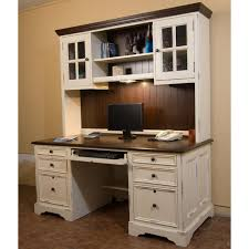 north american wood furniture computer desk with hutch office
