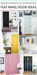 flat kitchen cabinet doors makeover 16 flat panel door makeover ideas boring to beautiful