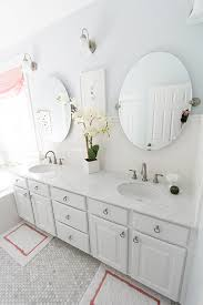 Tile Backsplash Ideas Bathroom by Master Bathroom Subway Tile Backsplash Marble Hex Floors With