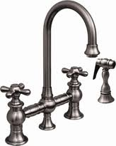 pewter kitchen faucet fall into this deal 25 waterstone 6200 1 antique pewter