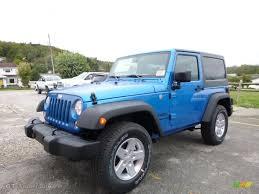 jeep wrangler blue 2016 hydro blue pearl jeep wrangler sport 4x4 107636578