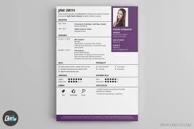 contemporary resume header and footer resume maker creative resume builder craftcv