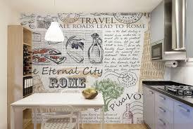 kitchen mural ideas kitchen mural wallpaper eazywallz kitchen wall mural idea 1